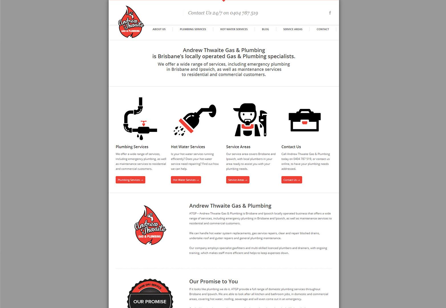 Andrew Thwaite homepage