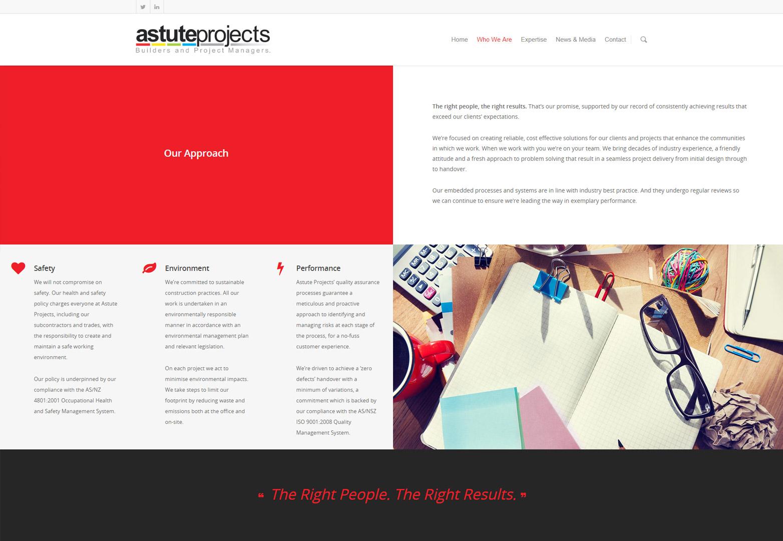 webdesign astute